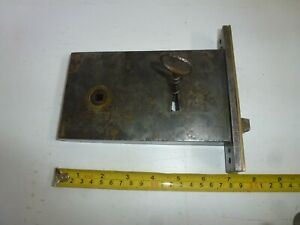 victorian mortice lock ( original )  right/hand with 1 key