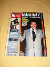 PARIS MATCH N°2737 novembre 2001 Mohammed VI Yves Montand