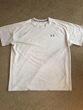 Men'S Under Armour Heat Gear Lt Gray T-Shirt Sz 2Xl *Nwot*