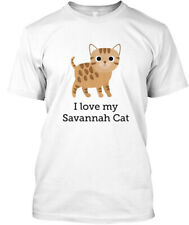 Teespring Dani Ashbury I Love My Savannah Cat! Comfort Tee