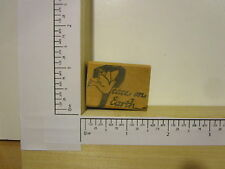 Rubber Stamp by RUBBER HEADS Peace on Earth