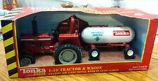 Tonka Farm Tractor & Wagon Ammonia Load Diecast Metal 1:16 Scale