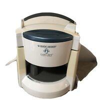 Black & Decker Lids Off Electric Jar Opener White blue JW200 Easy Open Arthritis
