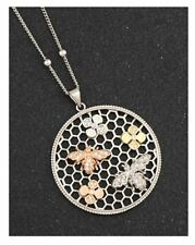 Equilibrium Ladies Long Honeycomb Necklace Gift Idea