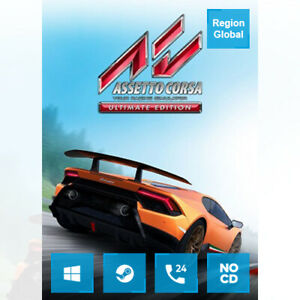 Assetto Corsa Ultimate Edition for PC Game Steam Key Region Free
