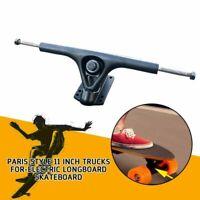 2pcs Black Paris style trucks for-electric longboard skateboard & 204mm hanger R