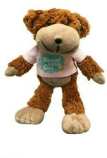 Skansen Gifted Bears Brown Special Little Girl Doll Soft Plush Toy 24cm