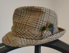 Stetson Wool Tweed Hat Sz. 6 7/8