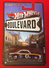 1:64 Hotwheels Boulevard Vairy 8 Blue and White