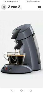 Senseo HD 6552 Kaffeepadmaschine  Anthrazit, der Klassiker als  Neuauflage.