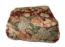 """Ralph Lauren Desert Plains Red Floral Comforter 64"""" W TWIN"""