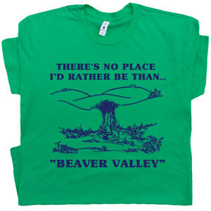 Funny T Shirt Beaver Valley Offensive Saying Novelty Sex Dirty Crude Rude Mens