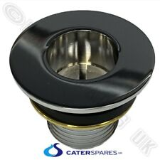 """42Mm Drain Waste Outlet For Stainless Catering Sink 1.1/2"""" With 87Mm Flange"""