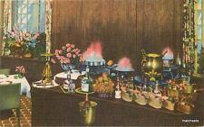 1940s Cafe de Paris Park Dearborn Hotel Chicago Illinois Interior Teich 4229