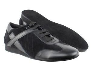 Men's dance shoes black UK 7.5 (41) ballroom latin tango salsa