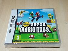 Nintendo tear strip seal New Factory Sealed Super Mario Bros DS DSI 3DS