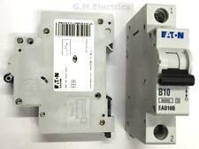EATON 10 AMP TYPE B 10A MCB BREAKER MEMSHIELD 3 EAD10B / EMBH110 MOELLER XPOLE