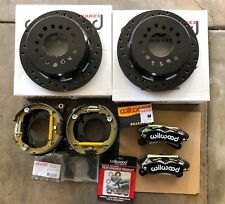 "Ford 9 inch Big Bearing Torino Wilwood 11"" Dynapro Rear Disc Parking Brake Kit"