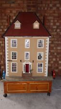 1/2 scale dolls house complete with furnature and models