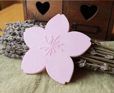 Romantic Cherry Blossom Cup Cushion Coaster Sakura Flower Dish Plate Holder 4pcs
