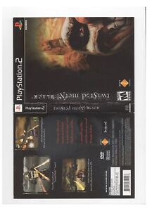 Twisted Metal Black PS2 ARTWORK ONLY Excellent Authentic Black Label