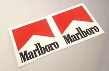 marlboro stickers F1 Classic Stickers Ayrton Senna 85MM X 90MM