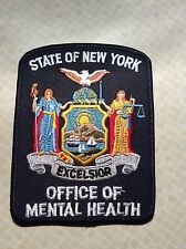 VINTAGE New York State Police Office of Mental Health patch NY OMH OMRDD NEW
