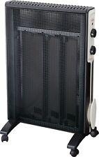 Jata RD225N Micathermic Electric Panel Radiator Heater Black 1500W