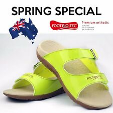 SPRING SPECIAL Foot Bio-Tec Orthotic Shoes Sandals Arch Support Pain Relief OZ