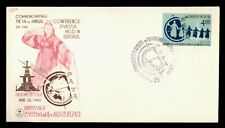 DR WHO 1965 KOREA PATA CONFERENCE SEOUL FDC C171218