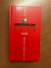 Guide Michelin Italia 1996
