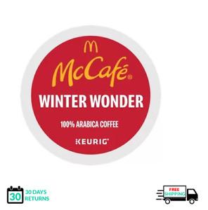 McCafe Winter Wonder Keurig Coffee K-cups YOU PICK THE SIZE