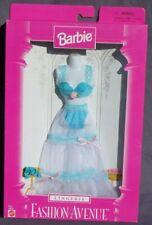 barbie lingerie FASHION AVENUE tenue accessoire 1997 Mattel 18092 voile bleu