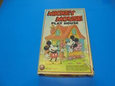 Vintage Colorforms Disney Mickey Mouse Play House  Minnie Pluto #656