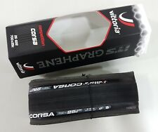 Vittoria Competition Corsa 700x25C Graphene Clincher Folding Road Tire (Pair)