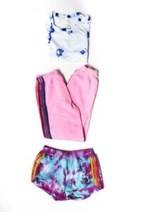 Lululemon Aviator Nation Womens Shorts Sweatpants Crop Top Size XS 12 Lot 3