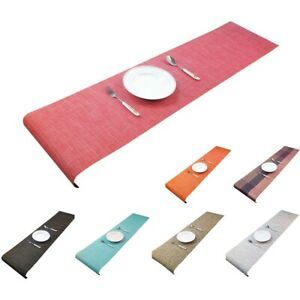 Table Runner Hotel Heat Insulation TableCloth Placemat Elegant Table Cover 1PC