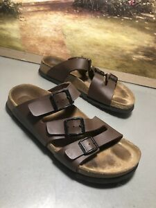 BETULA by Birkenstock Sandals Size 8 - 38 Brown Patent Leather