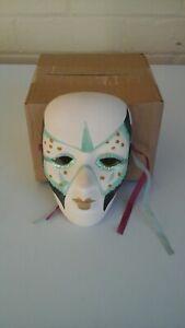 Ceramic face Mask Wall hanger