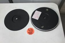 TECHNICS SL-1950 genuine Platter and Rubber Mat - Turntable PARTS -