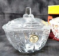 "Candy Dish - 5 1/2""-Crystal Clear Industries - Vintage New Old Stock"