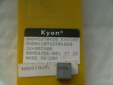 10 x KENNAMETAL KYON SNG453T0420 KY2100 INSERTS