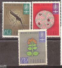 Polska POLONIA Poland yv # 1206/1208 ** MNH Malaria, paludisme