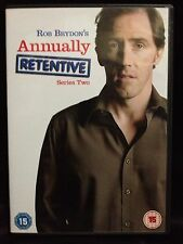 ROB BRYDON'S~ANNUALLY RETENTIVE~SERIES TWO 2~ DVD~172 MINS~PAL REGION 2 & 4