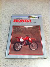 Clymer Honda Service Manual Shop CR60 - 125R Pro Link 1981 - 1988 M442