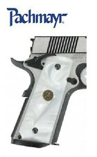 Pachmayr  1911 Custom Series WHITE Pearl Grips, (both sides) # 62001  New!