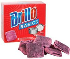 Brillo Basics 8 Small Size Steel Wool Soap Pads