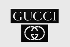 GUCCI STENCIL FOR TRACING/AIRBRUSH/SPRAY-PAINTING - HIGH QUALITY PLASTIC