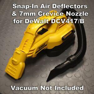 DeWalt Vacuum Upgrade Kit - Crevice Nozzle / Air Deflectors Set DCV517 / DCV517B