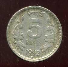 INDE 5 rupees  1992 ( 1 )